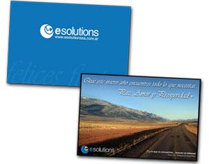 Tarjeta Fin de Año - eSolutions SA