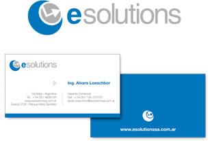 Logo tarjetas eSolutions SA
